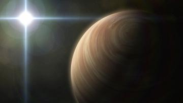 Картинка космос арт вселенная галактика планета