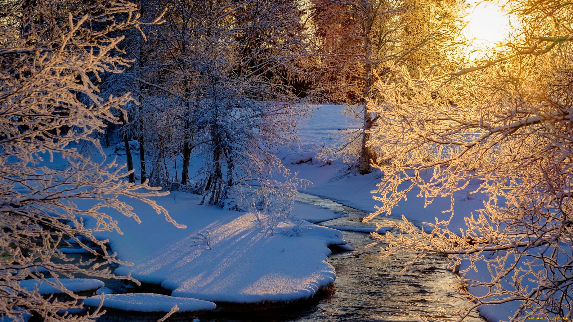 Зимний пейзаж фото высокого качества задержано просьбе