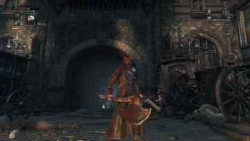 Картинка видео+игры bloodborne