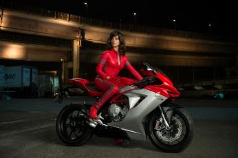обоя мотоциклы, мото с девушкой, фон, девушка, мотоцикл, взгляд