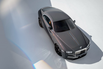 обоя 2018 rolls-royce wraith luminary collection, автомобили, rolls-royce, 2018, rolls, royce, wraith, luminary, collection, роллс, ройс, top, view