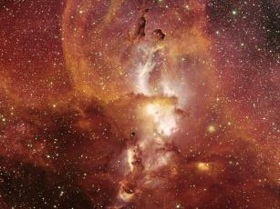 Картинка ngc 3582 космос галактики туманности