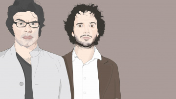Картинка рисованные люди мужчины фон