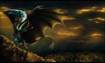 Картинка рисованные животные +сказочные +мифические дракон