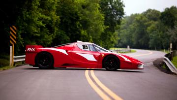 Картинка ferrari fxx автомобили s p a гоночные спортивные италия