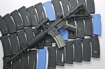 Картинка оружие автоматы магазины автомат штурмовая винтовка ar-15