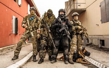 Картинка оружие армия спецназ собака norwegian special forces