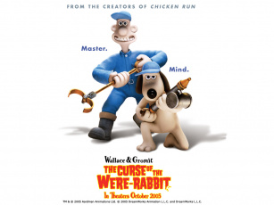обоя the, wallace, and, gromit, movie, curse, of, wererabbit, мультфильмы, in, were, rabbit