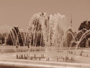 Картинка города фонтаны