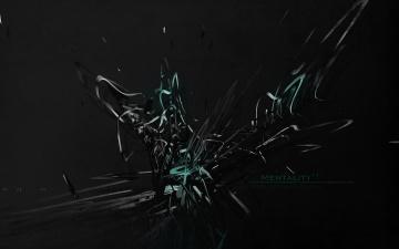 Картинка 3д графика abstract абстракции абстракция