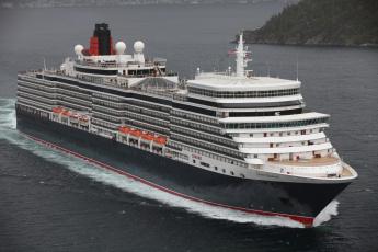 Картинка queen+elizabeth корабли лайнеры лайнер круизный