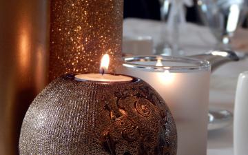 обоя разное, свечи, необычные