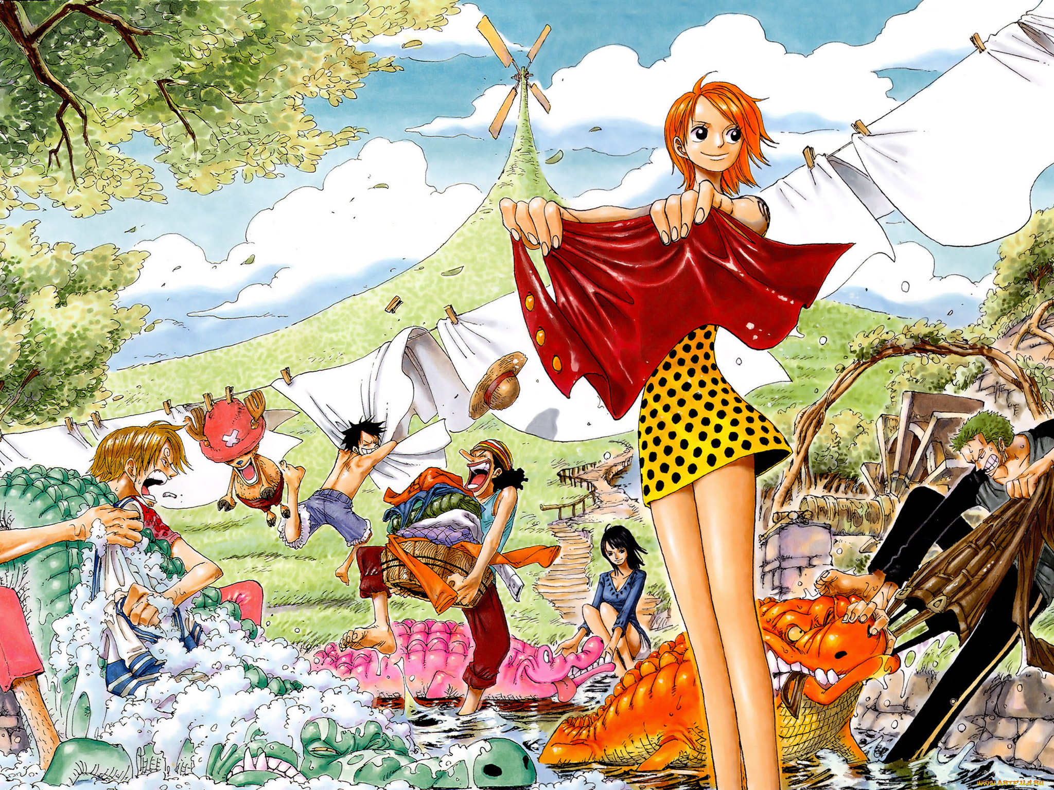 Manga one piece pictures girls
