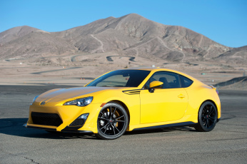 Картинка 2014+scion+fr-s+release+series автомобили scion желтый металлик горы