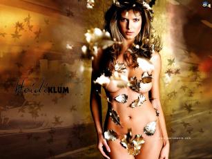 обоя Heidi Klum, девушки