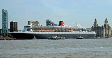 Корабль Queen Mary 2  № 3495260 бесплатно