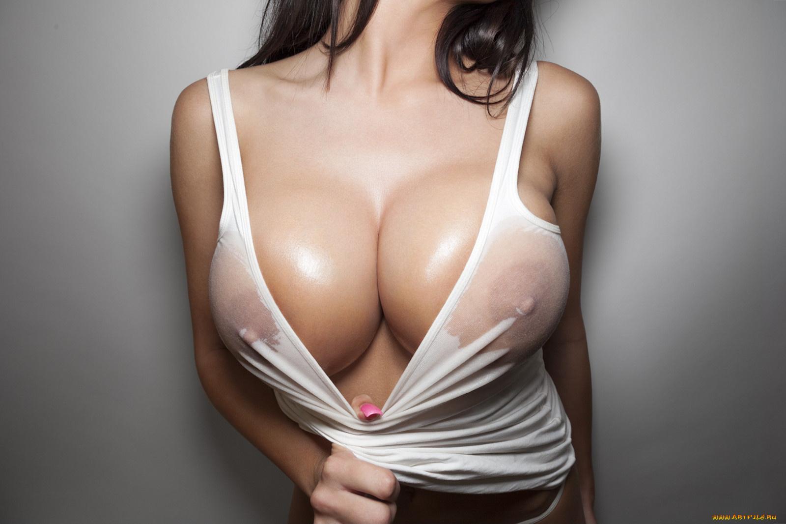 Porno style open breast girl scene
