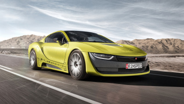 обоя rinspeed etos based on bmw i8 2016, автомобили, rinspeed, etos, based, bmw, i8, 2016