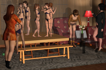 Картинка 3д+графика фантазия+ fantasy фон взгляд девушки