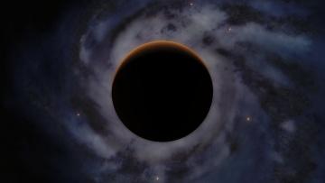 Картинка космос арт планета вселенная галактика