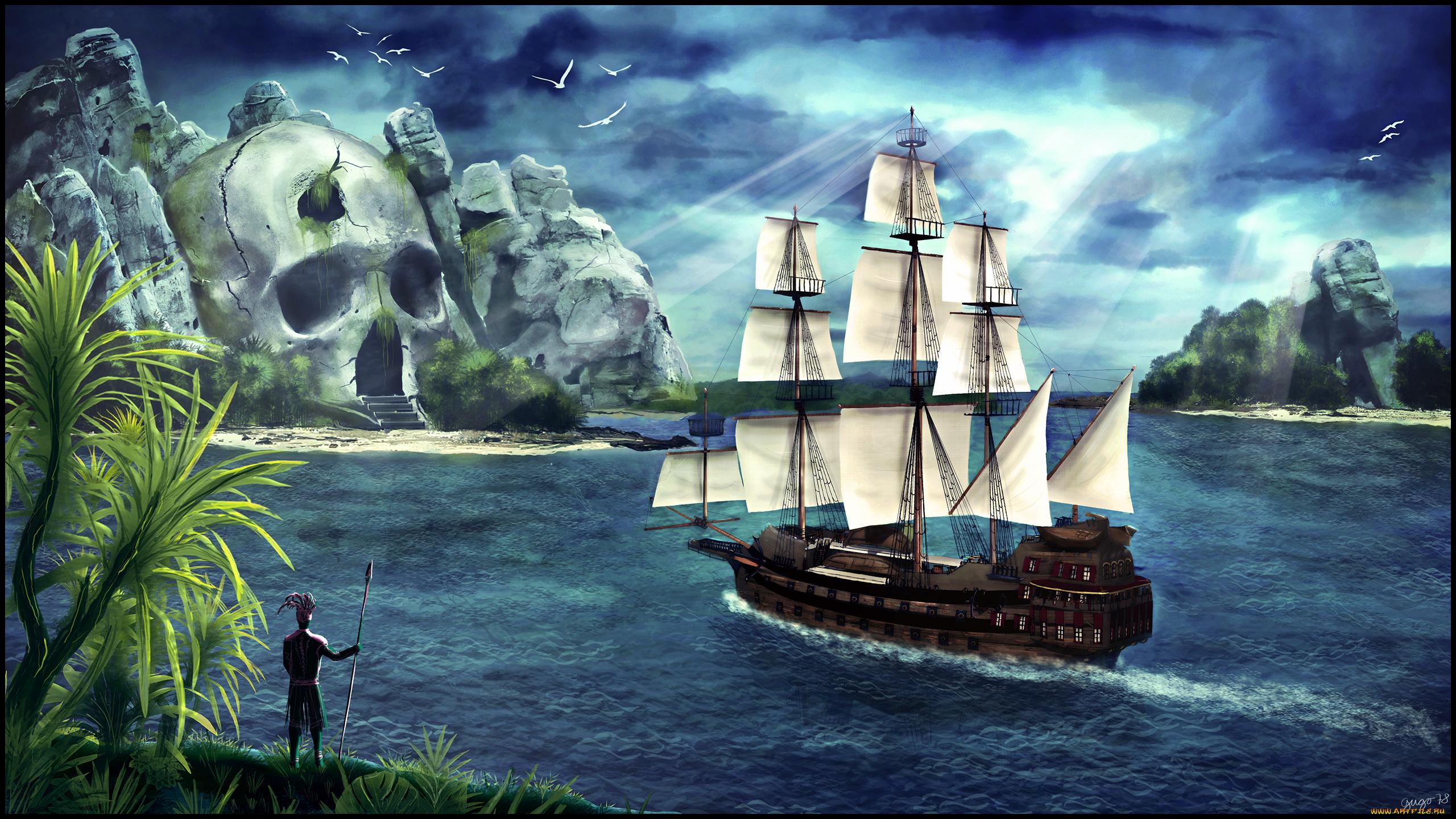 сказочный островок  № 253233 загрузить