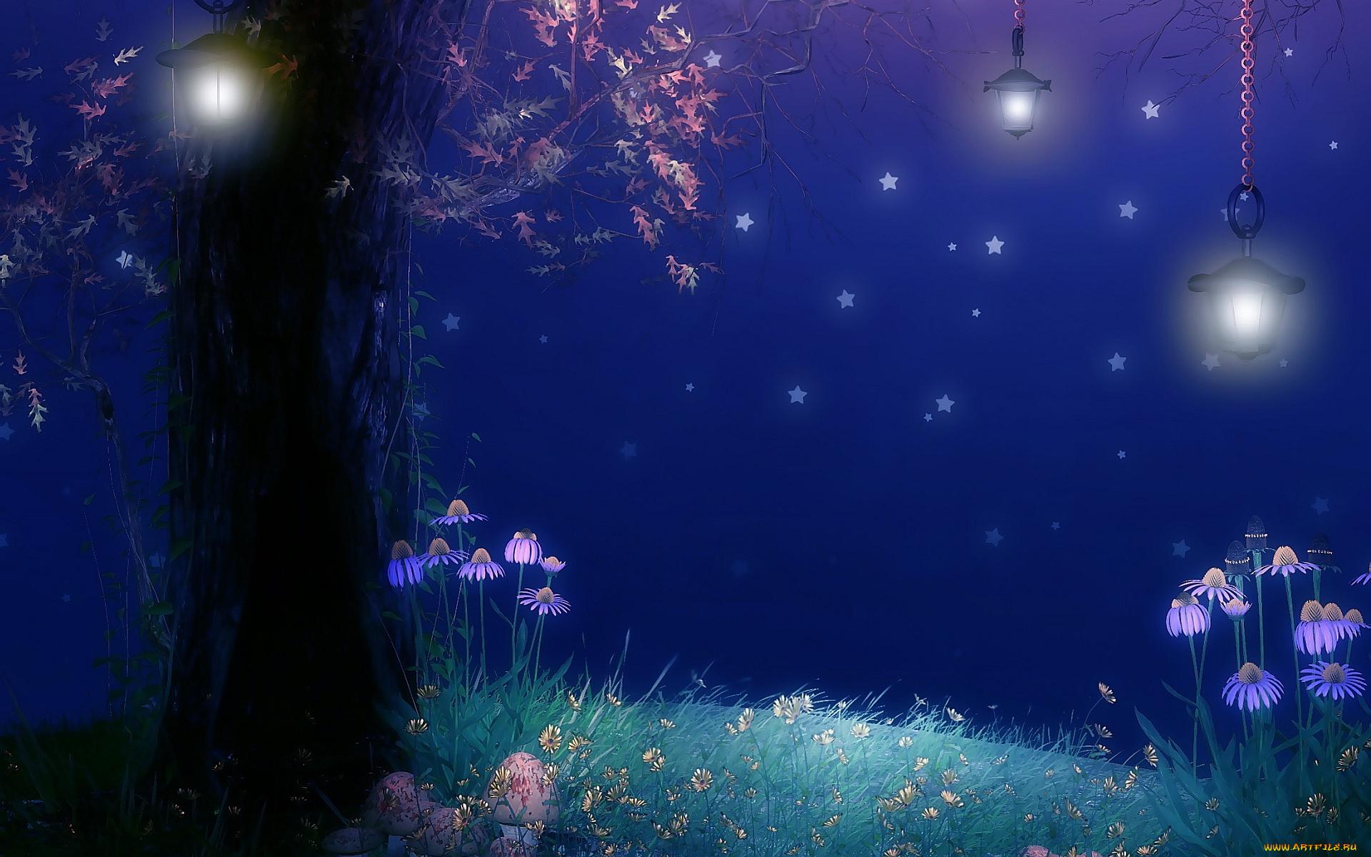 Принцесса под небесными фонариками  № 2222751 бесплатно