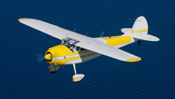 Картинка авиация лёгкие+одномоторные+самолёты полет самолет