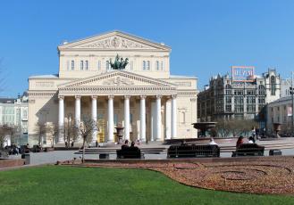 обоя большой театр, города, москва , россия, москва, театр, большой