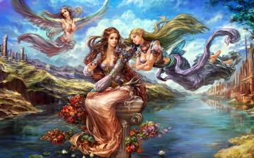 обоя fantasy, фэнтези, существа, фэнтази