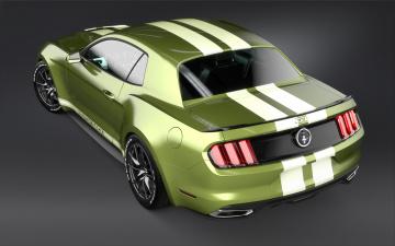 Картинка автомобили 3д 2017-ford-mustang-notchback