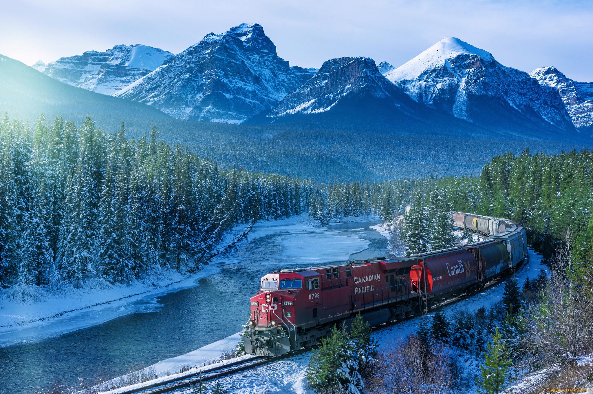 железная дорога снег railway snow загрузить
