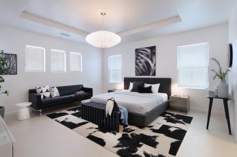 обоя интерьер, спальня, furniture, bedroom, дизайн, стиль, мебель, design, style