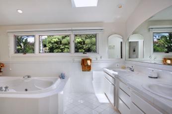 обоя интерьер, ванная и туалетная комнаты, дизайн, стиль, ванная