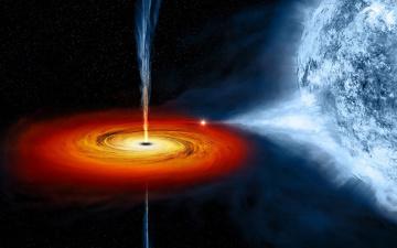 обоя вселенная, космос, квазары, планета