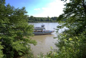 Картинка германия хердекке корабли теплоходы река теплоход