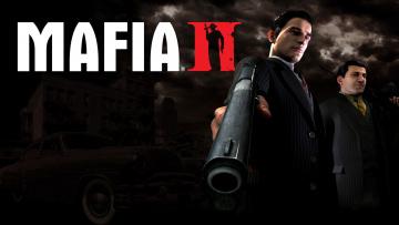 Картинка видео игры mafia ii оружие люди