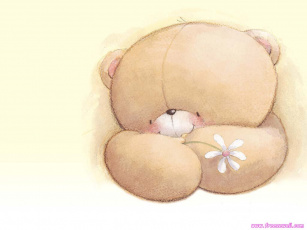 Картинка рисованные мишки тэдди