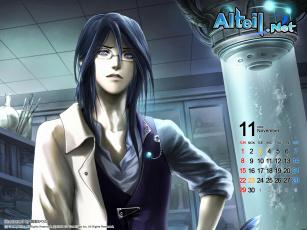 обоя календари, аниме