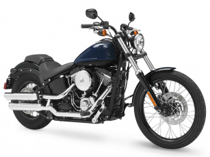 Картинка мотоциклы harley davidson softail blackline fxs harley-davidson