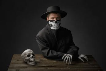Картинка мужчины -+unsort happy halloween скелет череп мужик