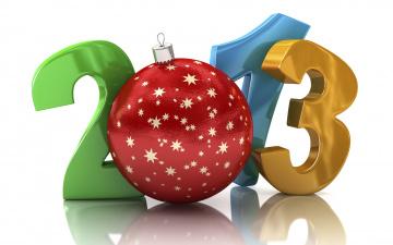 Картинка праздничные векторная графика новый год цифры