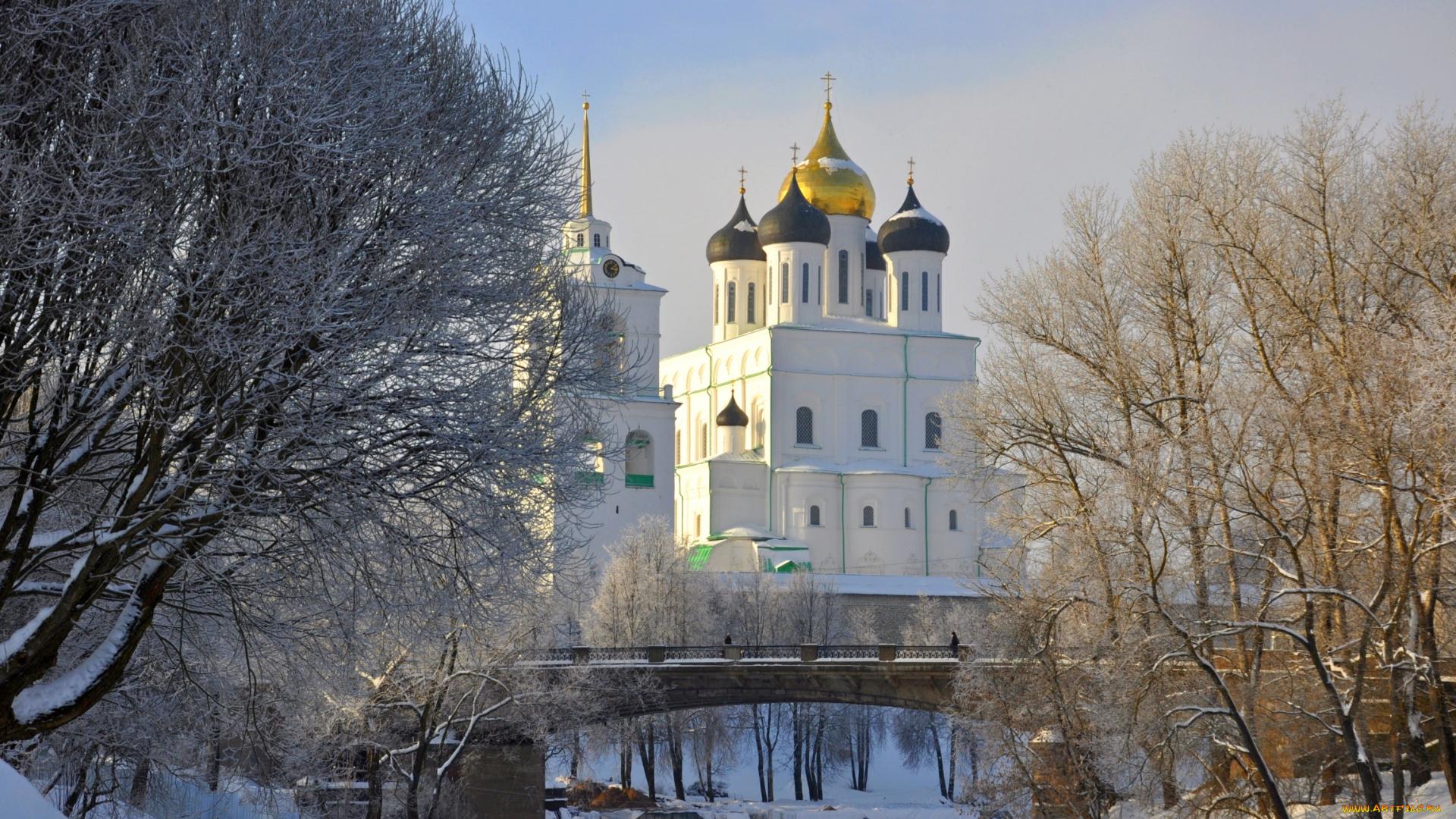 Обои для рабочего стола православные храмы весна