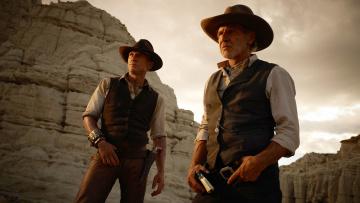 Картинка кино+фильмы cowboys+and+aliens ковбои револьверы харрисон форд cowboys and aliens шляпы