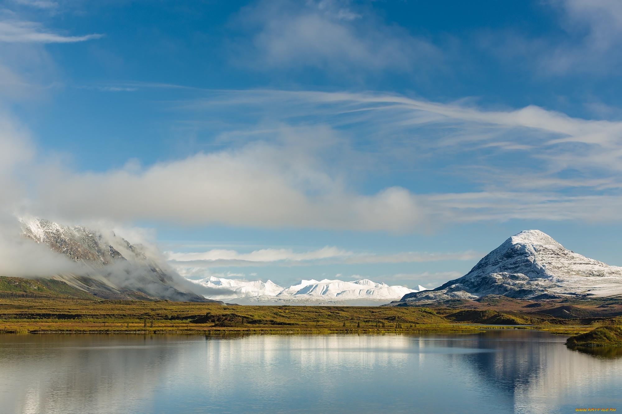 Alaska Range, Ruth Amphitheater, Alaska  № 1442151 загрузить