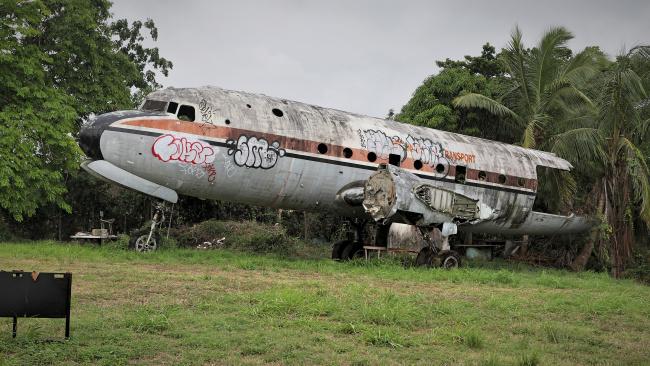 Обои картинки фото авиация, памятники авиационных изделий, junky, plane