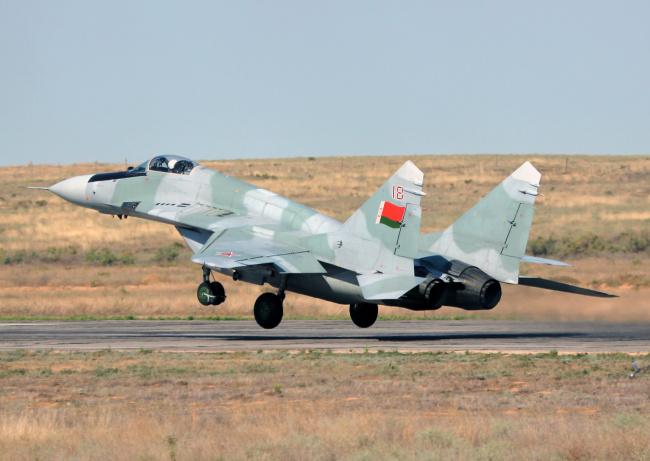 Обои картинки фото миг- 29, авиация, боевые самолёты, миг-, 29, истребитель